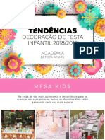 eBook Tendencias Festa Infantil