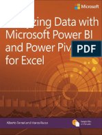 Analyzing Data With Power BI and Power Pivot for Excel-2017