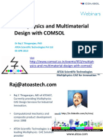 ATOA CAE Multiphysics and Multimaterial Design With COMSOL Webinar P