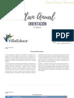 Planificacion Anual - OrIENTACION - 5Basico