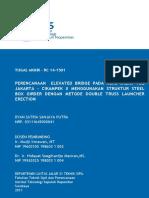 PERENCANAAN  ELEVATED BRIDGE PADA RUAS JALAN TOL JAKARTA - CIKAMPEK II MENGGUNAKAN STRUKTUR STEEL BOX GIRDER DENGAN METODE DOUBLE TRUSS LAUNCHER ERECTION.pdf