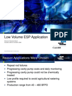 Low Volume Esp Application