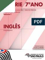 6 a SÉRIE 7 o ANO INGLÊS. Caderno do Professor Volume 1. Linguagens ENSINO FUNDAMENTAL ANOS FINAIS.pdf