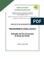 MATRIZ Perfil Canal Cunyaj PL480.doc
