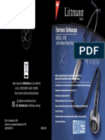 Manual Littmann 4100WS En