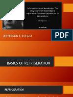 Basics of Refrigeration 2018-2019