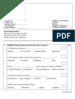 CBSE Class 3 Social Science Sample Paper Set C