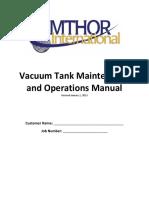 2013 Vacuum Tank Maintenance and Operations Manual1