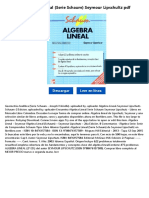 Algebra Lineal (Serie Schaum)