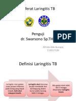 Referat Laringitis TB