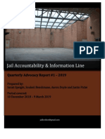 JAIL Hotline - Quarterly Advocacy Report #1