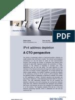 IPv4 address depletion