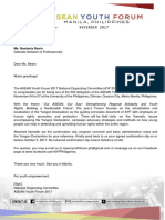 Asean Letter of Permission