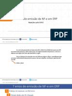 PDF - 7 Erros de Emissão de NFe Em ERPs