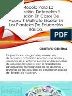 Protocolo Para La Prevención, Detección Y Actuación