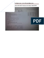Examen Fin de Module 2014 2015 Traitement de Salaire Tsge Ofppt