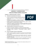 Ed. Media Científico Humanista Lenguaje y Comunicación