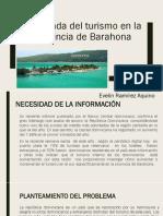 Demanda Del Turismo en La Provincia de Barahona