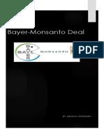 Bayer-Monsanto Deal