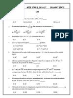 QP_Answer Key NTSE Stage 1 2016-17 Gujarat (SAT).pdf