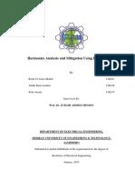 Harmonics Analysis and Mitigation Using Passive Filters .pdf