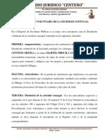 Disolucion de Sociedad Conyugal Ok Ante Notario