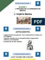 Bloque v Conquista de Mexico
