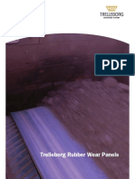 Rubber Wear Panels Product Brochure