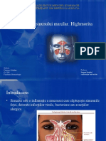 Trepanația Sinusuui Maxilar-highmorita