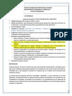 GUIA 4 de APRENDIZAJE GRADO 10 -La Higienización de Equipos, Utensilios E Instalaciones Para El Procesamiento de Alimentos, Según Programa de Limpieza Y Desinfección Y Normatividad Vigente