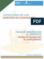 28 - Prueba de Valoracion de Antecedentes Cundinamarca