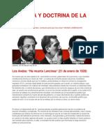 """HISTORIA Y DOCTRINA de LA UCR_ Los Andes_ """"Ha Muerto Lencinas"""" (21 de Enero de 1920)"""