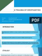 Penetrating Trauma of Oropharynx Dessy