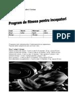 Proiect Fitness Tepsanu