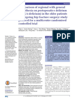 Comparison of regional with general anaesthesia on postOP delerium in the older patients.pdf