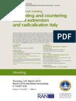 RAN network Meeting in Italy