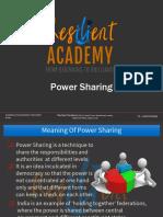 Power Sharing Class X ppt