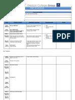 fmp schedule template
