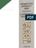 03 Tres aspectos de matemática y diseño - Christopher Alexander.pdf
