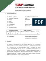 0705-07208 Silabo Derecho Penal II Parte Especial i