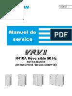 SiF39-404. Manuel de service. R410A Réversible 50 Hz RXYQ5-48MY1B (RXYQ5M7W1B _ RXYQ8-48M8W1B).pdf