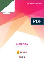 1er año de secundaria - ÁLGEBRA Libro de Teoría