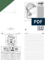 Manuale Istruzione VFR-EVO IT 07-2016
