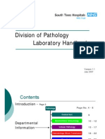 26932081 Division of Pathology Laboratory Handbook[1]