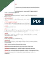 Terminologías Medicas Con La c y d