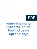 97170565 Manual de Productos de Aprendizaje Trabajos Independientes 1
