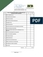 Ficha de Registro de Carpeta Pedagogica 2018 Nb
