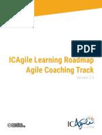 ICAgile Learning Roadmap Agile Coaching Track Version 2.0