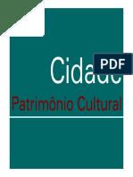 CIDADE PATRIMÔNIO CULTURAL