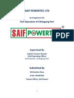 Saif powertec Asignment